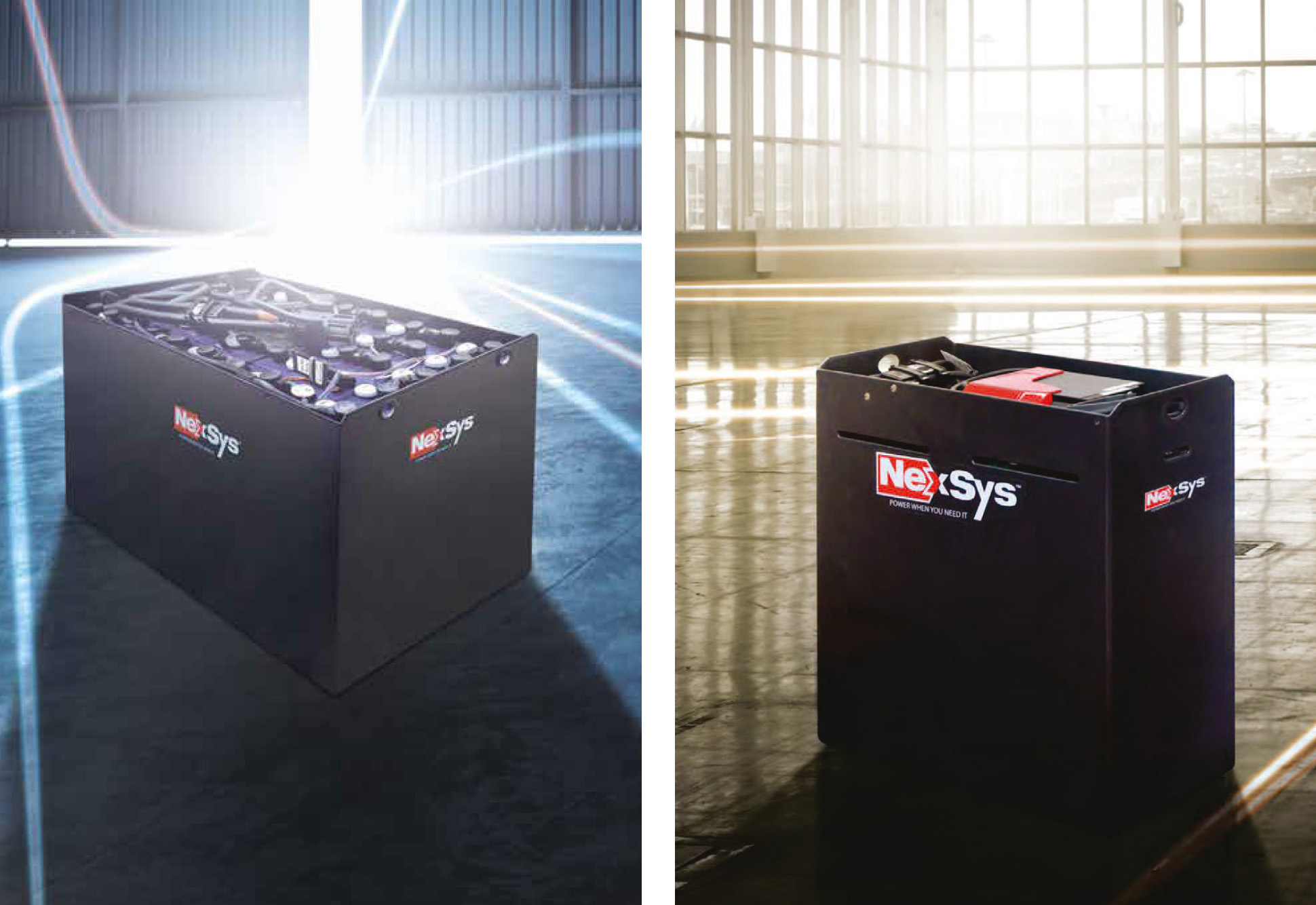 Batterie Nexsys® Tutta l'Energia quando Serve